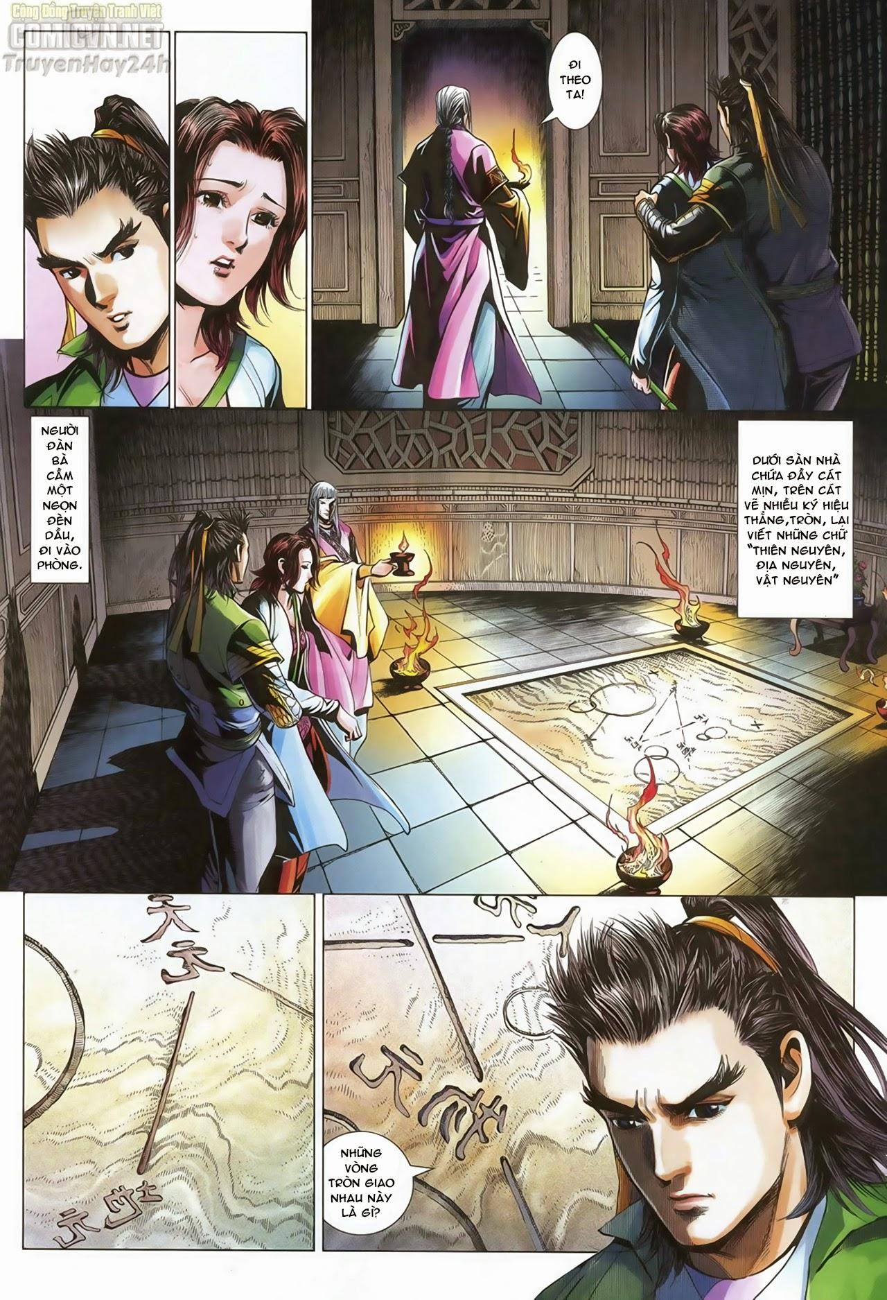 Anh Hùng Xạ Điêu anh hùng xạ đêu chap 70: hắc chiểu ẩn nữ trang 16