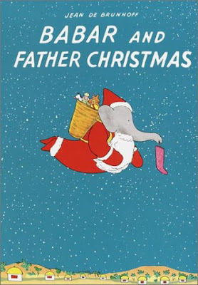 Babar and Father Christmas,Christmas, part of Favorite Character Christmas Book Review List for Kids