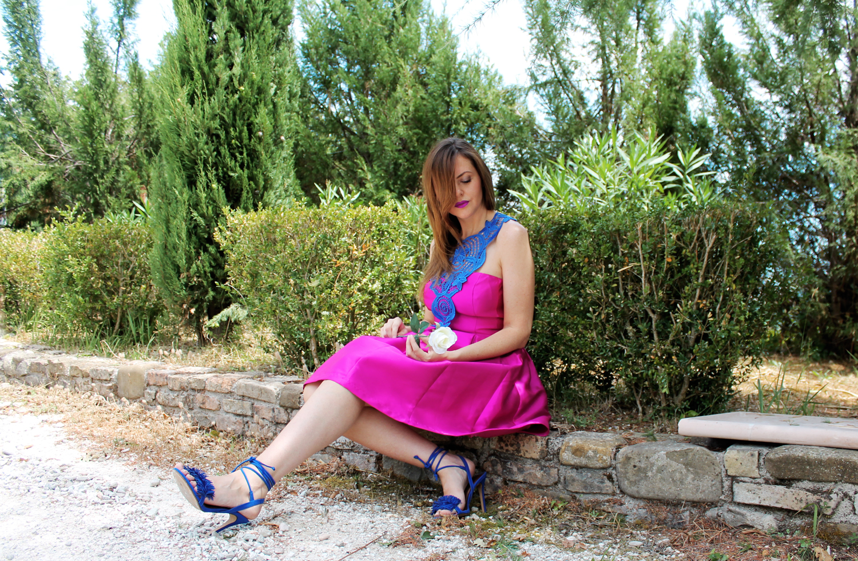 vestito rosa street style