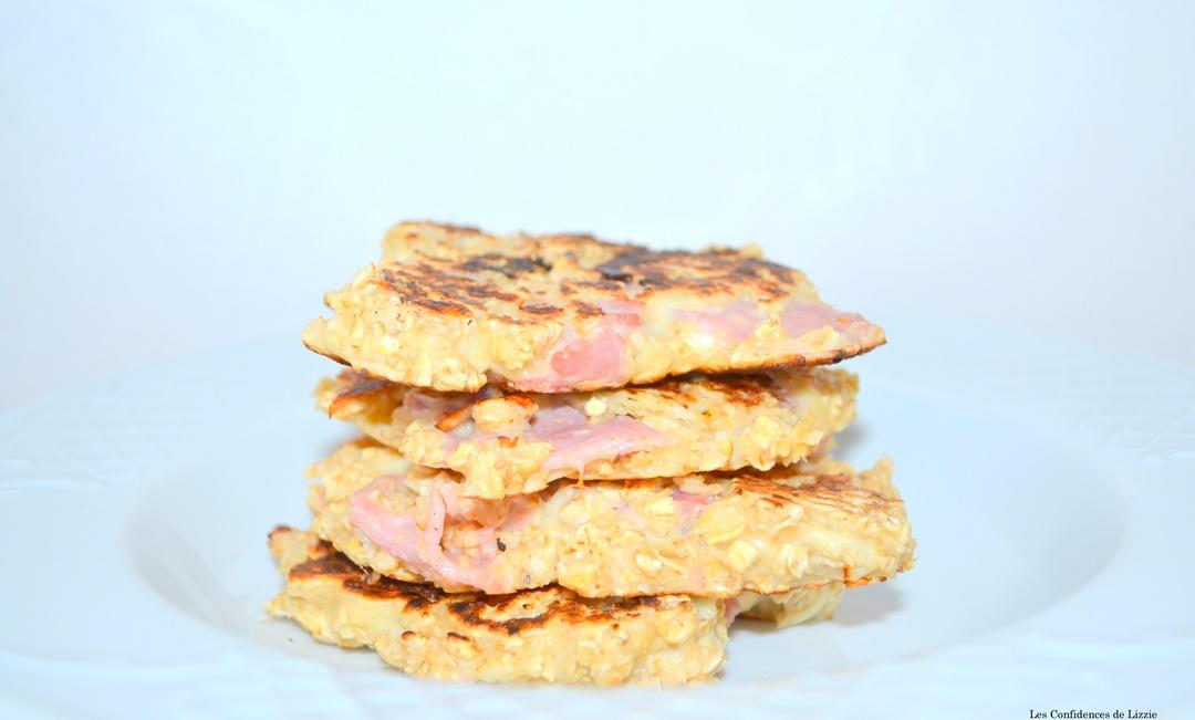 recette healthy - recette minceur - recette rapide - recette jambon - recette fromage - flocons avoine