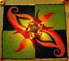 Simple Rangoli Designs Images