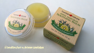Soothing Balm - Human Nature Review - Healthbiztips