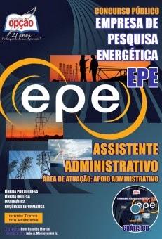 36254f057 Apostila Empresa de Pesquisa Energética Edital EPE - Assistente ...