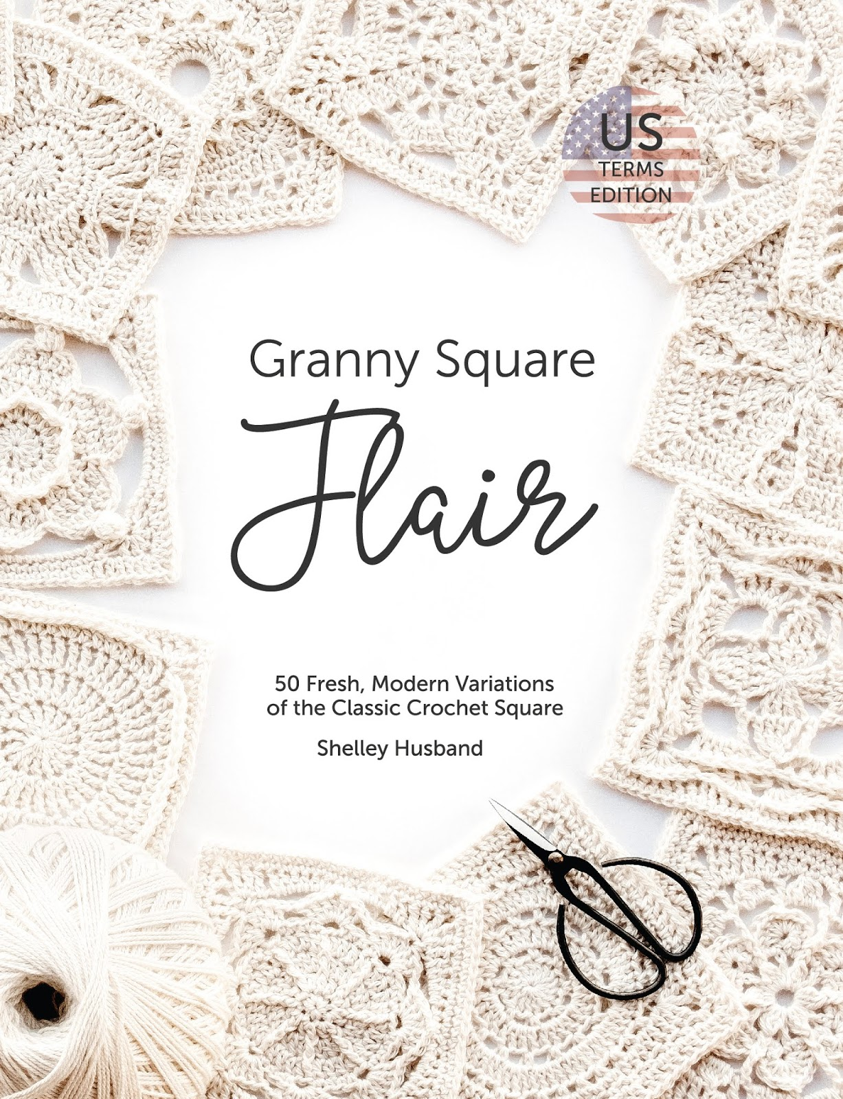 Free Crochet Paperback Book Cover Pattern ~ Granny square flair book review and giveaway lillabjörn s