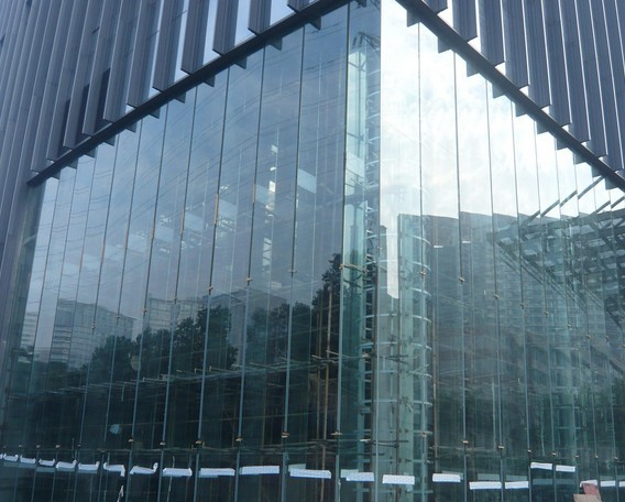 glass dome cover,curved glass curtain wall,glazed aluminum curtain ...
