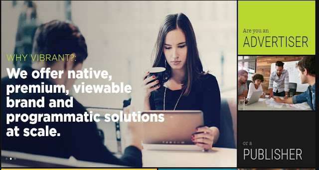 Vibrant Media ad network