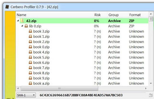 Kompres file dibutuhkan untuk memadatkan satu file atau lebih semoga ruang penyimpanan lebih Ukuran Awalnya Hanya 42KB, Namun Jika Diekstrak File ini Akan Menjadi 4500 Terabytes, Berani Coba?