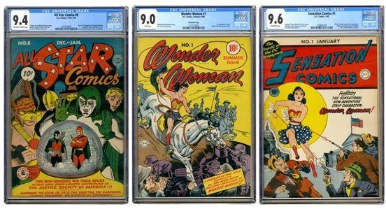 Wonder Woman: tre dei fumetti più rari in vendita su eBay