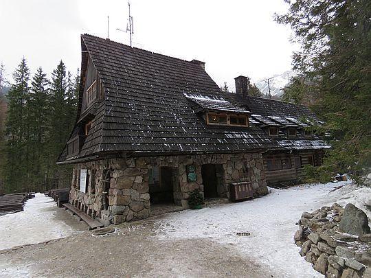 Schroniska PTTK na Hali Ornak.