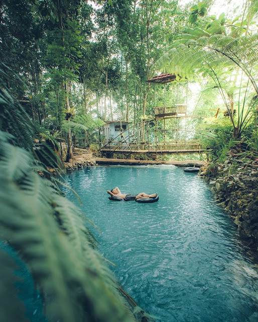 Ini di Kulonprogo gaes, taman sungai mudal jogja