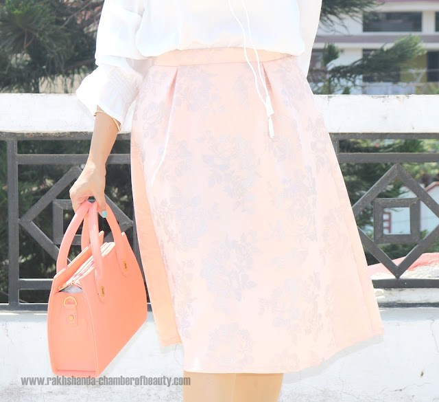 How to style midi skirts, summer fashion trends, Indian fashion blogger, Chamber of Beauty
