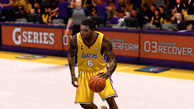 NBA 2K13 Earl Clark Accurate Face Mods