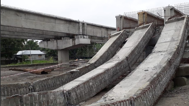 Under-construction flyover collapsed in Phansidewa