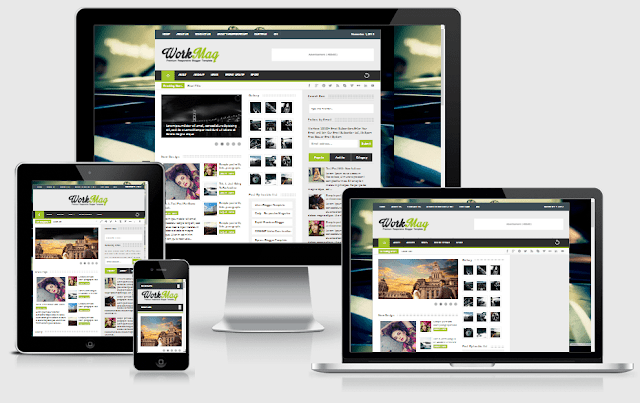 WorkMag Responsive Template
