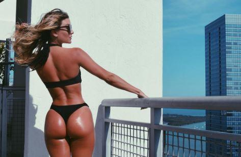 Hot girls Cassandre Davis sexy Ronaldo girlfriend 8