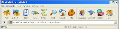 WinRAR RefreshCL theme Snapshot