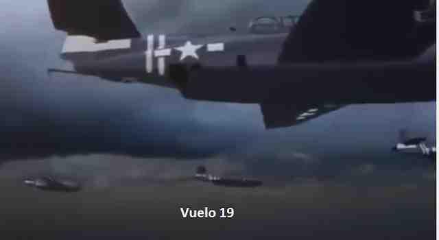 desaparicion del vuelo 19