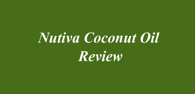 Nutiva Coconut Oil Review