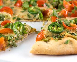 Rich Cilantro Pizza