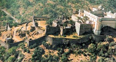 Kumbhalgarh Fort vista aérea