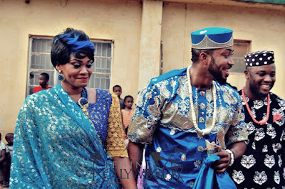 Photos from Nollywood Actor, Fredrick Leonard's Traditional Wedding