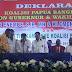 PKS Bersama 9 Parpol Deklarasikan Lukas Enembe sebagai Calon Gubernur Papua