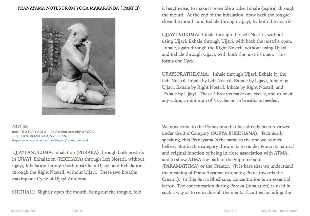 Krishnamacharya's 'Original' Mysore Yoga Research Project