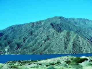 Dique (Barragem) de Potrerillos, Mendoza