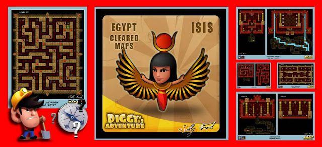 Diggy's Adventure Walkthrough: Isis Quest