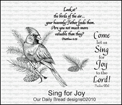 Stamps - Our Daily Bread Designs Sing for Joy