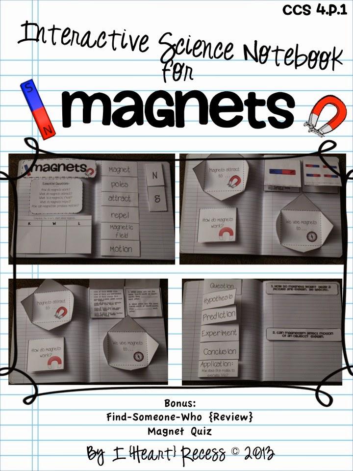 worksheet wednesday magnets i heart recess. Black Bedroom Furniture Sets. Home Design Ideas