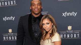 Cam Newton and girlfriend Kia Proctor