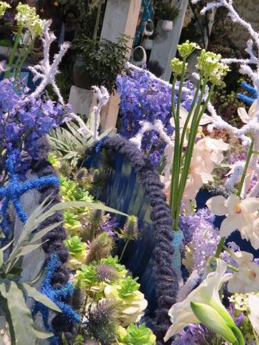 Philadelphia Flower Show 2020- Mare Nostrum Textile