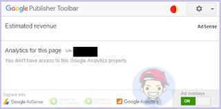 Mencegah Klik Iklan AdSense Sendiri dengan Google Publisher Toolbar