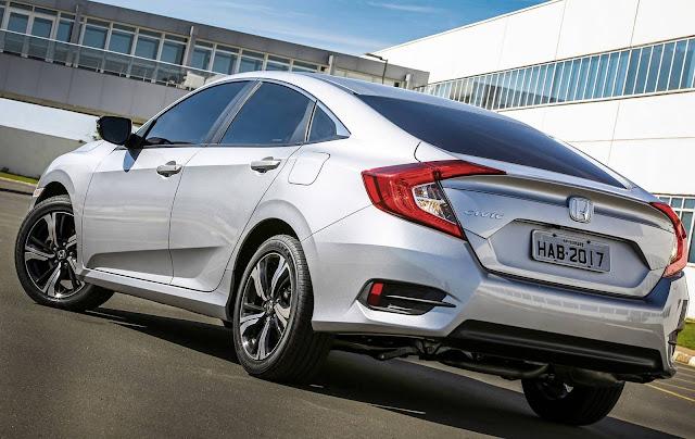 Novo Honda Civic 2017 EXL Prata