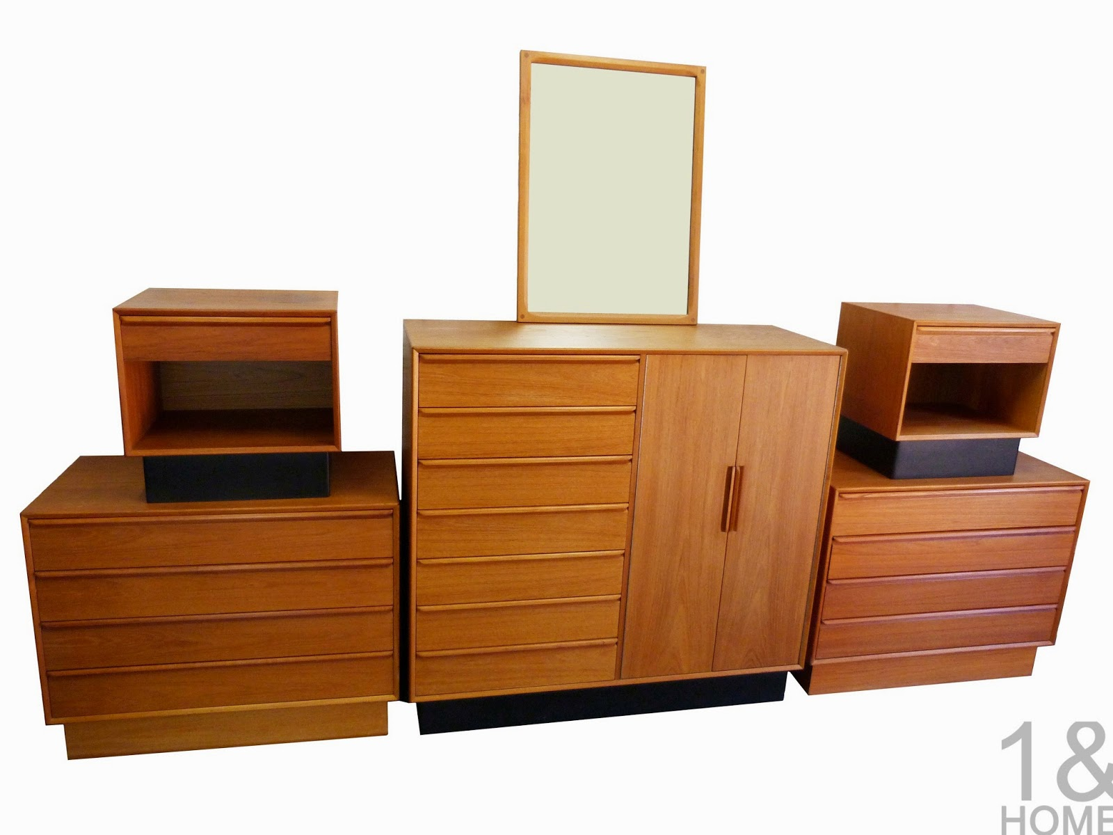 Teak And More modern mid century vintage furniture shop used restoration repair denver