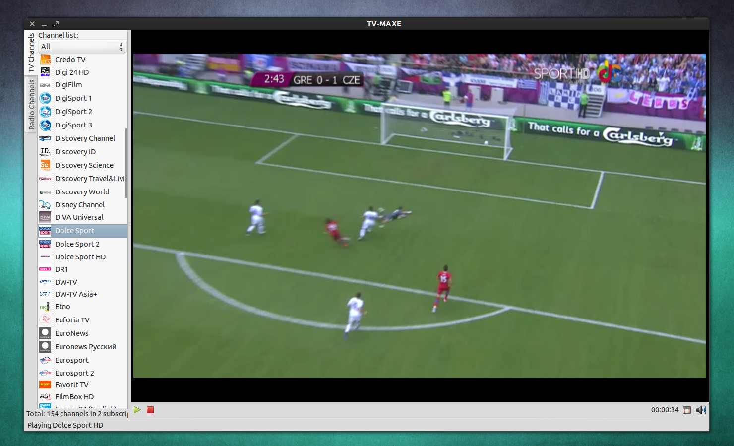 How To Watch Uefa Euro 2012 Live Online Under Linux Web Upd8