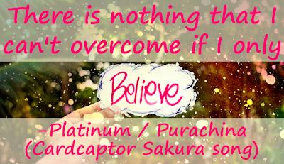platinum, purachina, maaya sakamoto, clamp, cardcaptor sakura, card captor sakura, anime, manga, song, quote, lyrics analysis