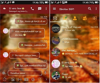 Download BBM Autumn Theme