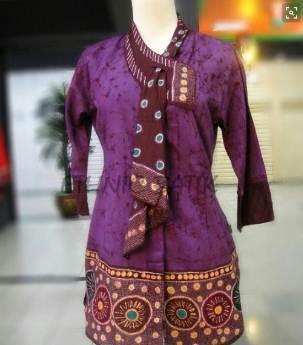 Model Batik Kerja Wanita Modis Model Batik 2019