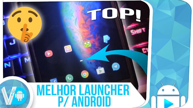 BOMBA! SAIU a #MELHOR LAUNCHER [2018] para Android / MUITO LEVE e FLUIDA