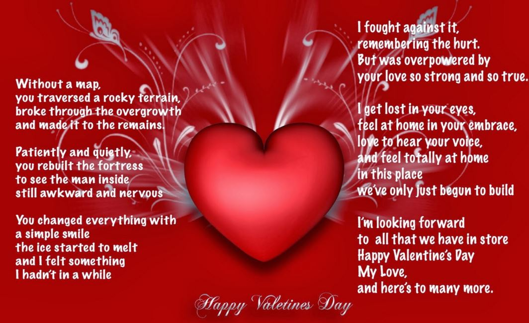 valentines day poems for her 2017 valentines poems for her