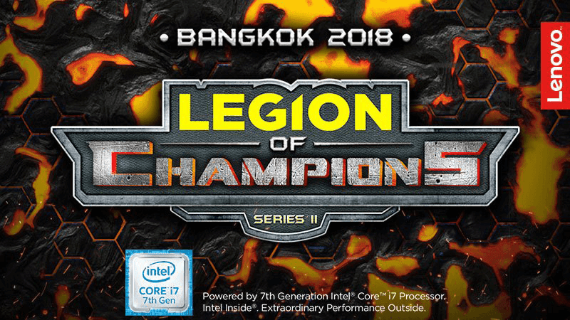 Lenovo and Intel team up for the Legion of Champions Series III
