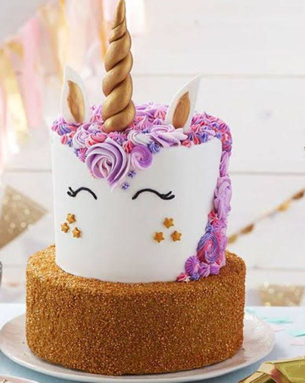 Message Form Unicorn Birthday Cake The Result Even Make Laughing