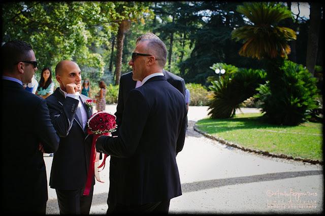 foto matrimonio Villa Cambiaso parco Arenzano