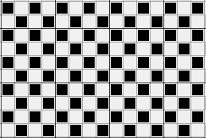Contoh Tenun Silang polos (Plain weave)