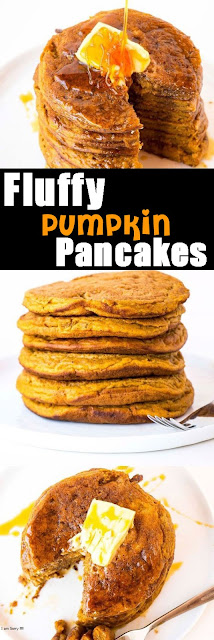 Delicious Fluffy Pumpkin Pancakes