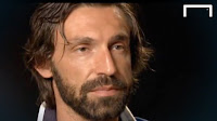 The former midfielder of Juventus Andrea Pirlo