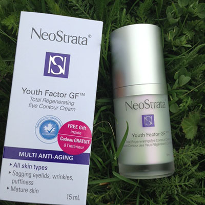 NeoStrata Youth Factor GF Total Regenerating eye contour cream #Review #Giveaway
