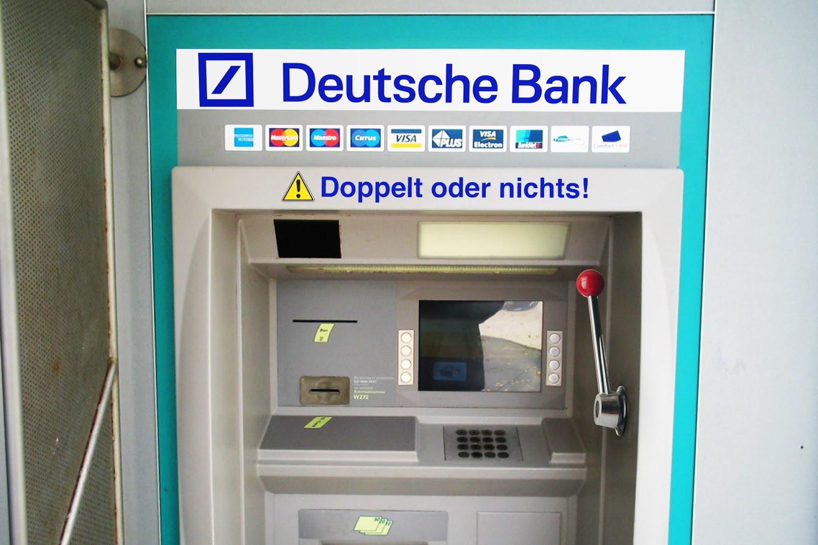 Geldautomaten Deutsche Bank
